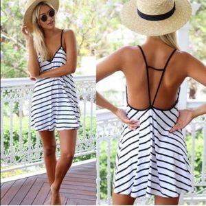 ONE LEFT☀️Summer Sundress Cover Up Mini Dress